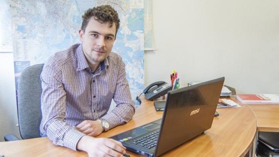 Damian Wielopolski, właściciel Awa Inwest /fot.: ak /