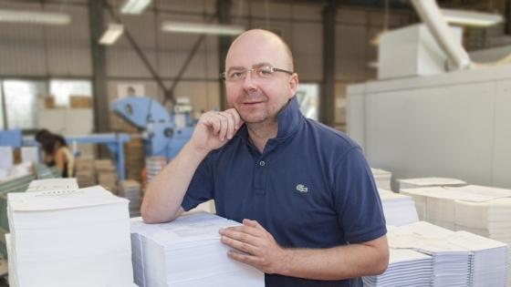 Daniel Krzanowski, prezes zarządu Print Group /fot.: ak /