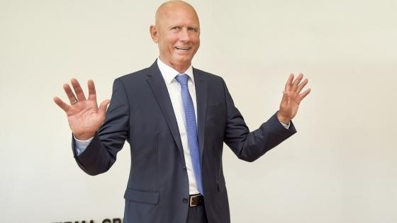 Klaus Roppel, prezes firmy Drobimex /fot.: Jarosław Gaszyński mat. Drobimex /