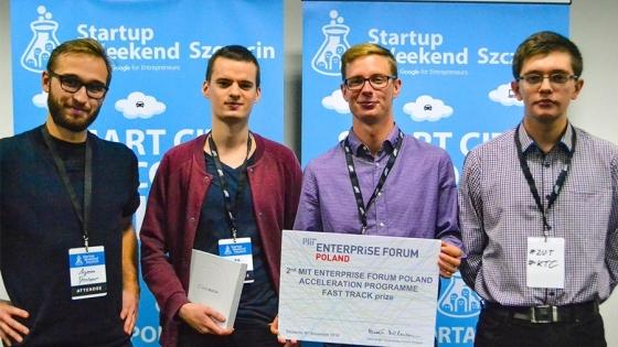 Gramy Na Hali - zwycięski zespół Startup Weekend Szczecin 2016 /fot.: mat. prasowe /
