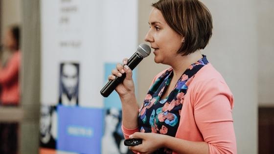 Maja Gojtowska, prelegentka #HRSzczecin 2018, doradza i wspiera firmy w zakresie budowy wizerunku i komunikacji. /fot.: mat. LSJ HR Group /