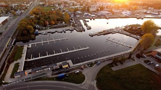 Jedna z realizacji Hydrobudu - basen rybacki w Kołobrzegu /fot.: Mat. Hydrobud /