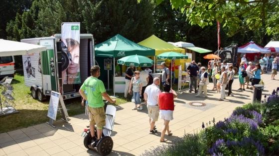 Targi INKONTAKT w Schwedt nad Odrą odwiedzają co roku tysiące zwiedzających z całej Brandenburgii. Dla zachodniopomorskich firm to atrakcyjne miejsce do wystawienia swoich produktów. /fot.: SG /