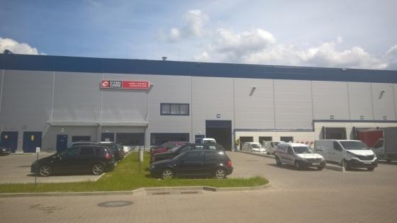 Nowe centrum logistyczne w Szczecinie Załomiu /fot.: Mat. Inter Cars /