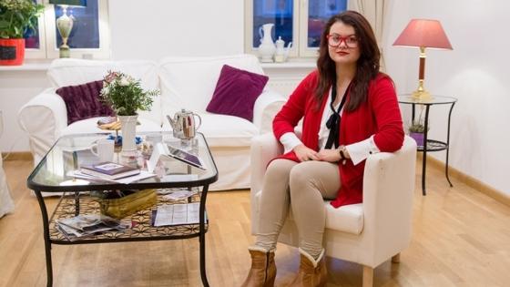 Joanna Bielenica, właścicielka szkoły językowej Let's Talk w jednej z sal zajęciowych /fot.: Let's Talk /