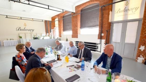 Spotkanie kapituły konkursu Perły Biznesu 2020  /fot.: SG /