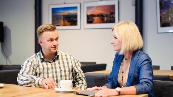 Karol Żygadło, koordynator Akademii Lidera CSL i Katarzyna Dujanowicz planują już drugą edycję programu rozwojowego dla CSL Internationale Spedition