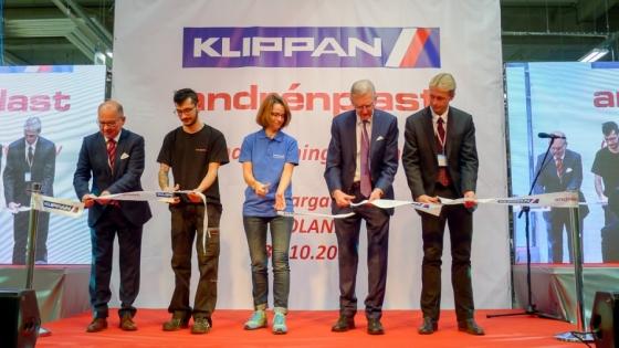 31 października fabryka CalixKlippan w Stargardzie została uroczyście otwarta /fot.: SG /