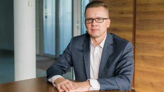 Krzysztof Koroch, the president of Megaron S.A. /fot.: mab /