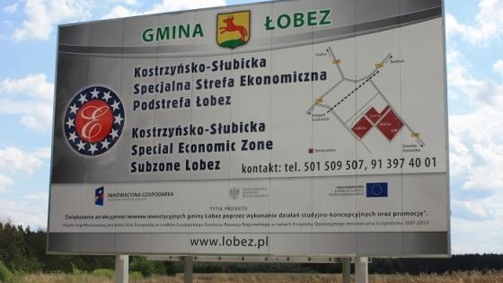 Wśród projektów jest m. in. dostosowanie infrastruktury technicznej SSE w Łobzie do potrzeb inwestorów strategicznych /fot.: Mat. UM Łobez /