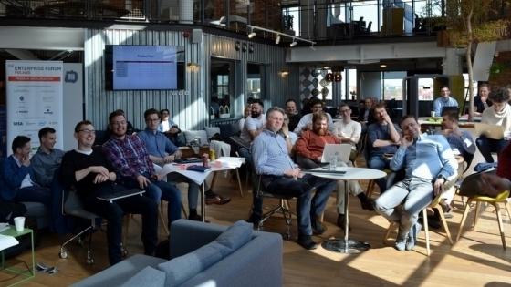 Jedno ze spotkań informacyjnych w poprzednich edycjach programu /fot.: Mat. MIT Enterprise Forum Poland /