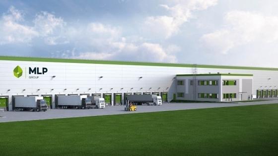 Tak ma wyglądać Park Logistyczny MLP Szczecin. Wizualizacja /fot.: Mat. MLP Group /