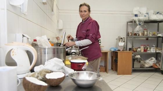 Magda Lachowicz, właścicielka firmy Prasad oferującej roślinny catering na terenie Szczecina /fot.: ak /