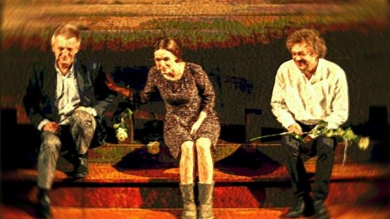 W spektaklu wystąpią Bronisłąw Cieślak, Anna Cieślak i Ryszard Leoszewski /fot.: Mat. Stara Rzeźnia /