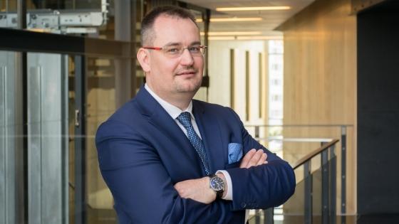 Marcin Kaczyński, dyrektor Centrum Bankowości Korporacyjnej Banku Zachodniego WBK w Szczecinie