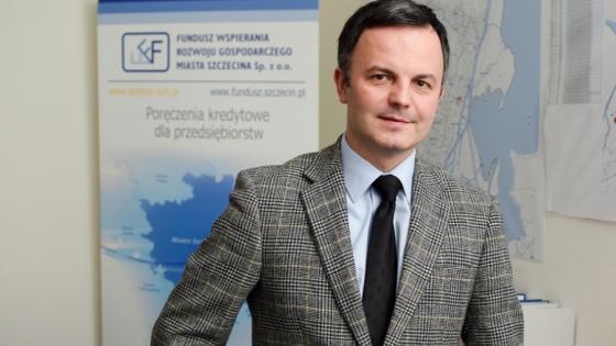Marek Kubik, prezes zarządu Funduszu Wspierania Rozwoju Gospodarczego Miasta Szczecina