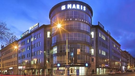 Centrum Biurowe Maris u zbiegu ulic. Hołdu Pruskiego i Małopolskiej /fot.: Mat. Archiwum Centrum Biurowego Maris /