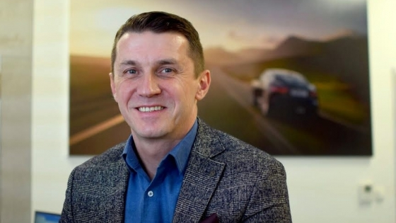 Michał Stoltmann, prezes Bońkowscy British Auto