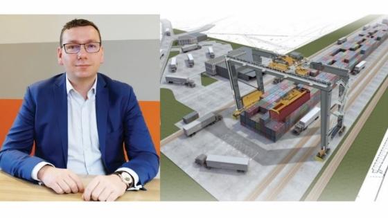 Przemysław Hołowacz, prezes zarządu CCIC Intermodal Depo Dunikowo /fot.: mat.  CCIC Intermodal Depo Dunikowo /