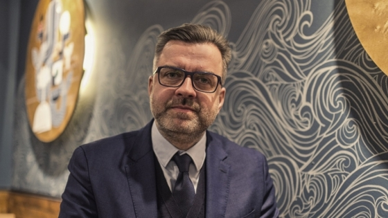 Sebastian Goschorski, CFO, Członek Zarządu w Adamus SA /fot.: mat. SG /