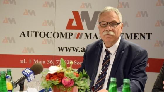 Stanisław Parczewski, prezes Autocomp Management /fot.: mab /