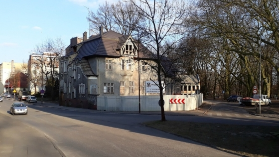 Browar restauracyjny powstanie w willi po dawnej Bibliotece Pedagogicznej w Stargardzie /fot.: mab /