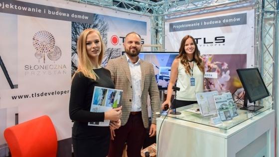Stoisko TLS Developer na 30. Targach Nieruchomości i Wyposażenia Wnętrz w Szczecinie