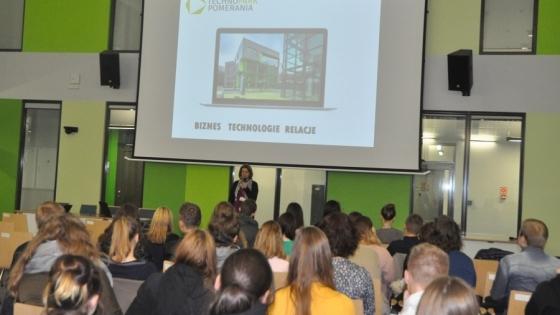 Uczestnicy wizyt-inspiracji w Technoparku Pomerania  /fot.: Mat. PFP /