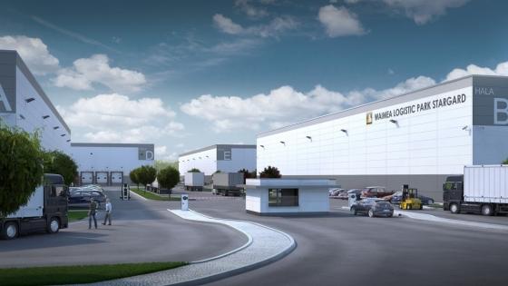 Wizualizacja Waimea Logistic Park Stargard /fot.: mat. Waimea Logistic Park Stargard /