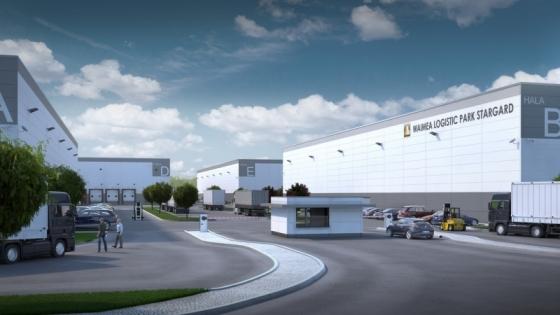 Wizualizacja Waimea Logistic Park Stargard /fot.: Wizualizacja Waimea Logistic Park Stargard /