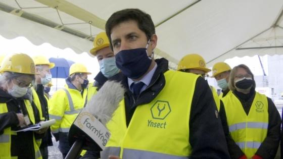 Julien Denormandie: – Nowa fabryka będzie miała znaczenie nie tylko ekonomiczne, ale i środowiskowe. /fot.: PRZEMYSŁAW WOJDYŁA zielonachemia.eu  /