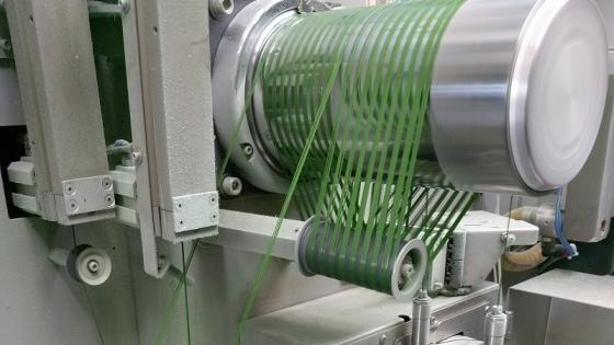 Baltic Spinning produkuje przędzę do wyrobu dywanów i wykładzin dywanowych /fot.: mat.GPP Goleniow.biz /