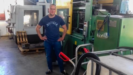 Aleksander Gardocki, prezes i główny udziałowiec Evitronu /fot.: ata /