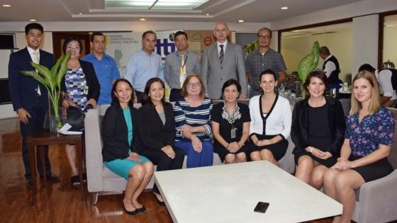 Spotkanie  project managerów Natureef z przedstawicielami władz Filipin /fot.: Jaśmina Solecka /