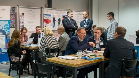Pierwsza Polsko-Niemiecka Giełda Kooperacyjna odbyła się w ubiegłym roku  /fot.: mab /
