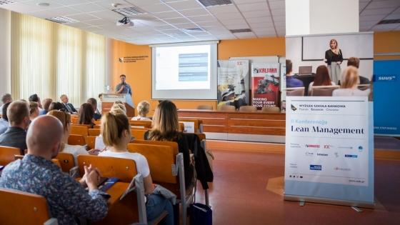 2. Konferencja Lean Management w Wyższej Szkole Bankowej w Szczecinie /fot.: mat. WSB /