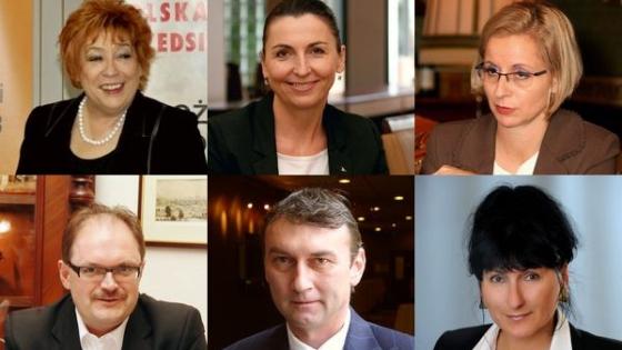 Barbara Bartkowiak, Sylwia Gadomska, Monika Pyszkowska, Dariusz Kunikowski, Piotr Chajderowski, Grażyna Litwiniuk /fot.: archiwum /