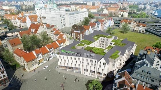 Wizualizacja hotelu Ibis Styles Szczecin Stare Miasto /fot.: mat. Grupy Hotelowej Orbis /